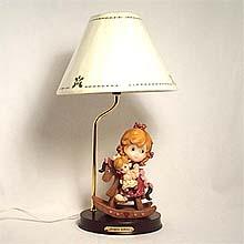 Girl on Rocker table lamp