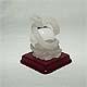 Chinese Zodiac Snake ice charm