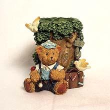 Tree and Bear pen holder