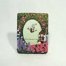 3.5x5 Secret Garden frame