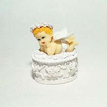 Angel Baby trinket box #3