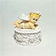 Angel Baby trinket box