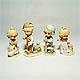 Countryside Children figurine set