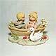 Lovers' Boatride figurine