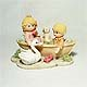 Lovers' Boatride figurine #2