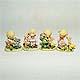 Childhood Animal Friends figurine set