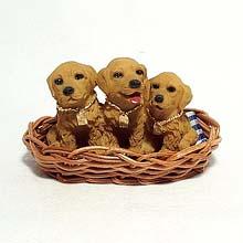 Golden Retriever figurine