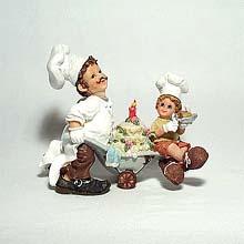 Master Chef figurine