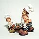 Father and Son Fish Chefs figurine