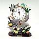 Dolphin pendulum clock