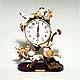 Chickadee pendulum clock